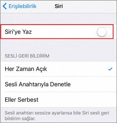 iOS-11-komut-yazarak-siri-ile nasil-iletisime-gecilir