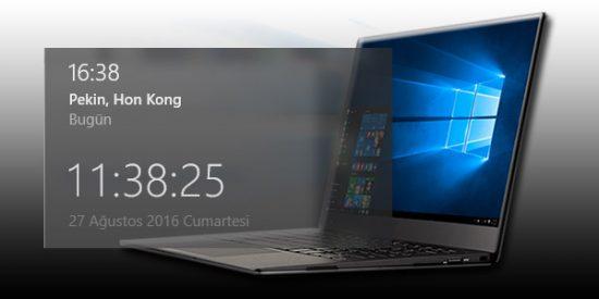 windows-10-da-ek-saat-nasil-gösterilir