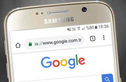 Android Chrome Tarayıcısında Ana Sayfa Düğmesini Gösterme