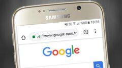 Android Chrome' da Ana Sayfa Düğmesini Gösterme