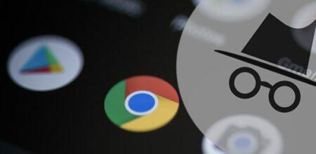 Android' de Chrome' u Gizli Mod ile Başlatma