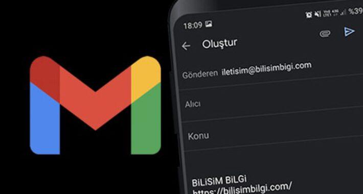 Android Gmail' de İmza Oluşturma