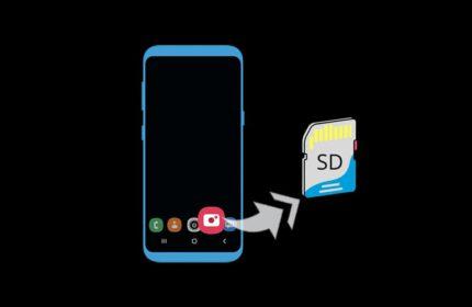 Android' de Kamera Depolama Konumu Değiştirme