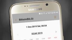 Android' te Mesajları Belirli Bir Zamana Ayarlayın