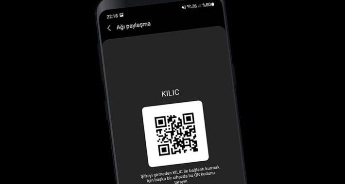 Android' de Wi-Fi Şifresini Vermeden Paylaşın