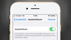 AssistiveTouch' ta Kullanabileceğiniz Ufak Bir iPucu!