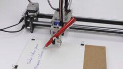 Artık Sizin Yerinize Yazım ve Çizim Yapabilen Robot Var!