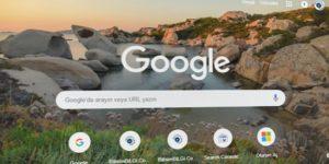 Chrome-Arama-Sayfasi-Tema-Degstirme