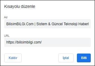 Chrome-Kisayollar-Ekleme-2