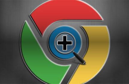 Chrome Üzerinden Yakınlaştırma ve Uzaklaştırma Seçenekleri
