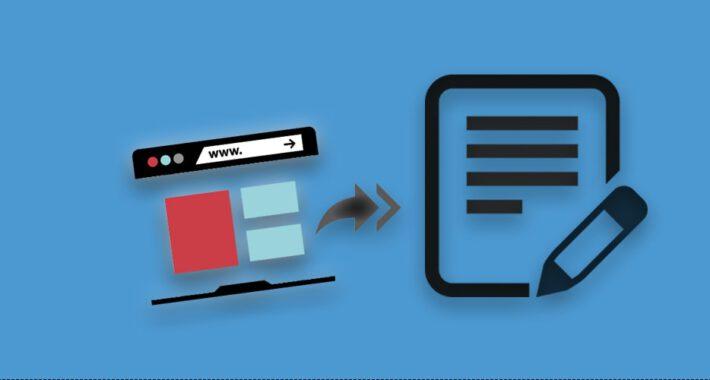 Eklentisiz Tarayıcı Üzerinde Not Alma ve Kaydetme