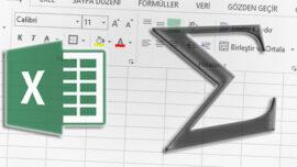 Excel' de Sayısal Değerler Arasındaki Boşluklarda Ara Toplam Hesaplatmak