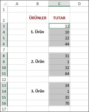 Excel-Ara-Toplam-Hesap-5
