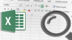Excel' de Tüm Sayfalarda Arama Yapma