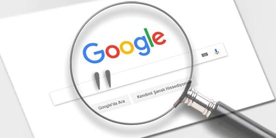 Google-Tirnak-isareti-Kullanımı