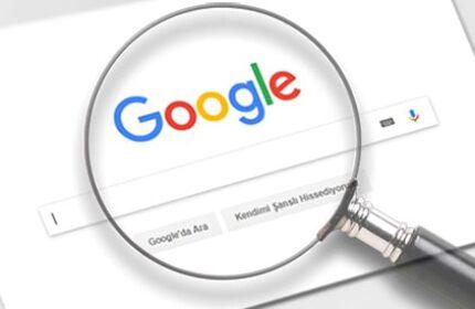 Google' da Web Adreslerine Yönelik Arama Yapma