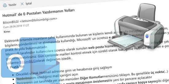 Hotmail-E-Posta-Yazdirma-Yollari