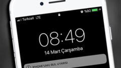 Titreşimde ya da Sessizde Olan Kayıp iPhone' u Bulmak