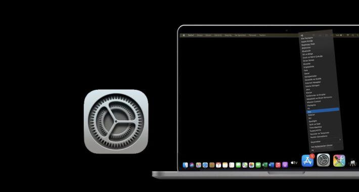MAC' te Sistem Tercihlerine Ulaşmanın Hızlı Yolu