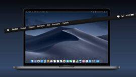 Mac' te Menü Çubuğunu Gizleme