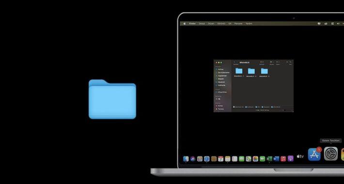 MacBook' da Aynı Anda Birden Fazla Dosya Seçimi