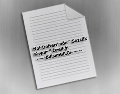 Not-Defteri-Sozcuk-Kaydir