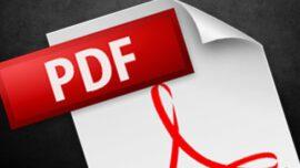 PDF Dosyası Açıldığında Gömülü Font Ayıklanamıyor Hatası