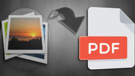 Sayıca Fazla Olan Resimleri PDF Dokümanına Dönüştürme