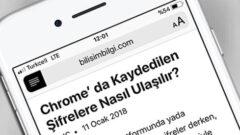 Safari' de Okuyucu (Reader) Özelliği Nedir, Nasıl Kullanılır?