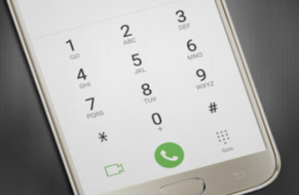Samsung' ta Arama Klavye Sesini Kapatma