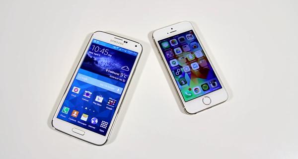 Samsung-Galaxy-S5-iPhone-5S