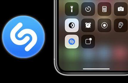 iOS 14.2 ile Birlikte Shazam Denetim Merkezine Geldi!