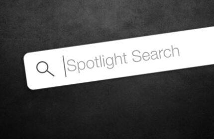 Spotlight' da Dosya Tipi ile Arama Yapma
