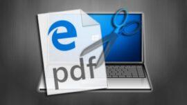 Windows 10′ da PDF Dokümanını Programsız Bölme
