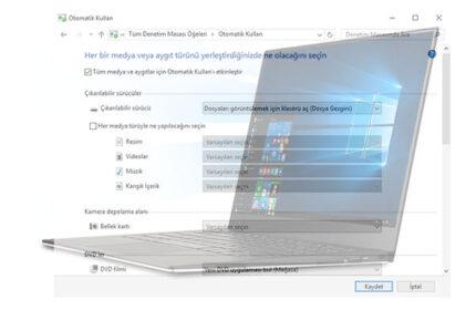 Windows 10′ da Otomatik Kullan Ayarı Nasıl Yapılır?