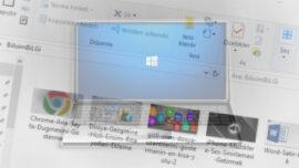 Windows' ta Toplu Dosya İsmi Değiştirme