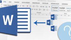 Word Dosyalarını Tek Bir Dosyada Toplama