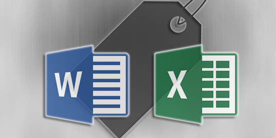 Word-Excel-Etiket