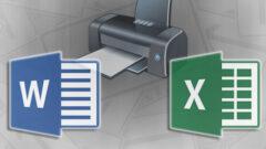 Word ve Excel' de Yazdır İşleminde İşinizi Kolaylaştıracak Kısayollar