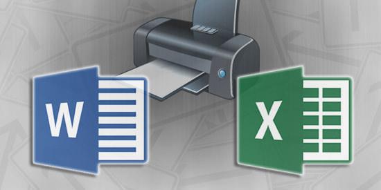 Word-Excel-Printer