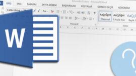 Microsoft Word' de Varsayılan Yazı Tipini Değiştirme