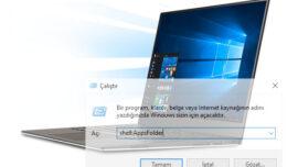 Bilgisayardaki Tüm Programlara Tek Klasörde Ulaşabilmeniz Mümkün