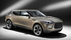 Concept Otomobil' de Aston Martin Lagonda Crossover
