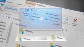 Windows 10′ da Dosya Gezgini Arama Geçmişini Silme