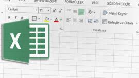 Excel' de Bul ve Değiştir Özelliği ile Çalışma Dosyasını Düzenleme