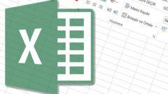 Excel' de Rastgele Sayı Üretme Yöntemi