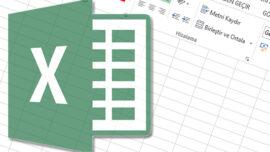 Excel' de Oluşan Boşluklar Nasıl Silinebilir?