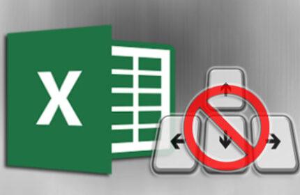 Excel' de Klavye Yön Tuşları Çalışmıyor!