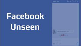 Facebook Görüldü Bildirimi Nasıl Devre Dışı Bırakılır?