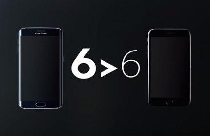 Samsung, Galaxy S6 Edge Reklamı ile Apple' ı Hedef Aldı